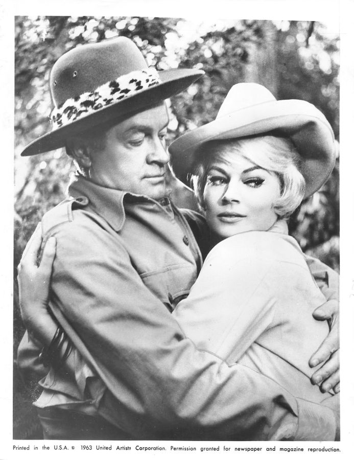Bob Hope and Anita Ekberg, Call Me Bwana