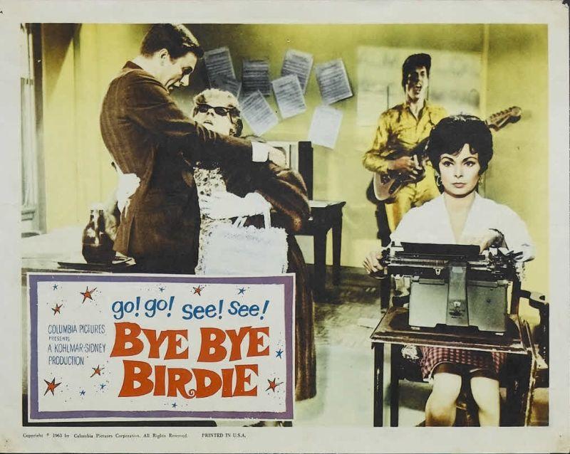 Bye Bye Birdie Lobby Card