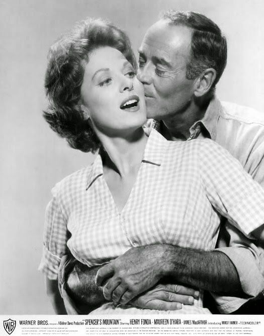 Maureen O'Hara and Henry Fonda