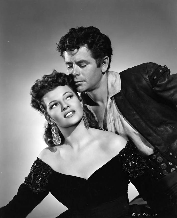 Rita Hayworth and Glenn Ford, The Loves of Carmen