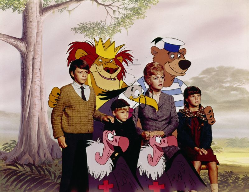 Angela Lansbury, Cindy O'Callaghan, Roy Snart, and Ian Weighill Bedknobs and Broomsticks