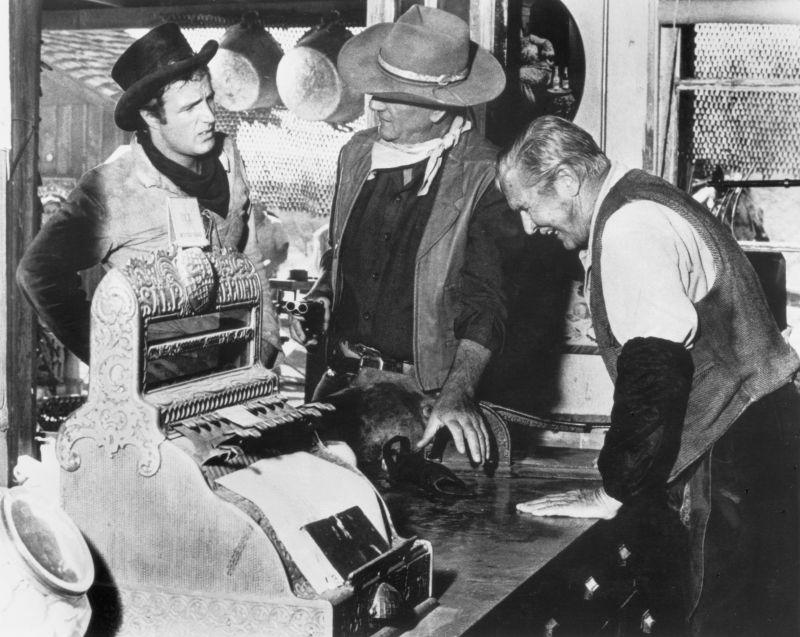 El Dorado: James Caan, John Wayne, and Olaf Wieghorst