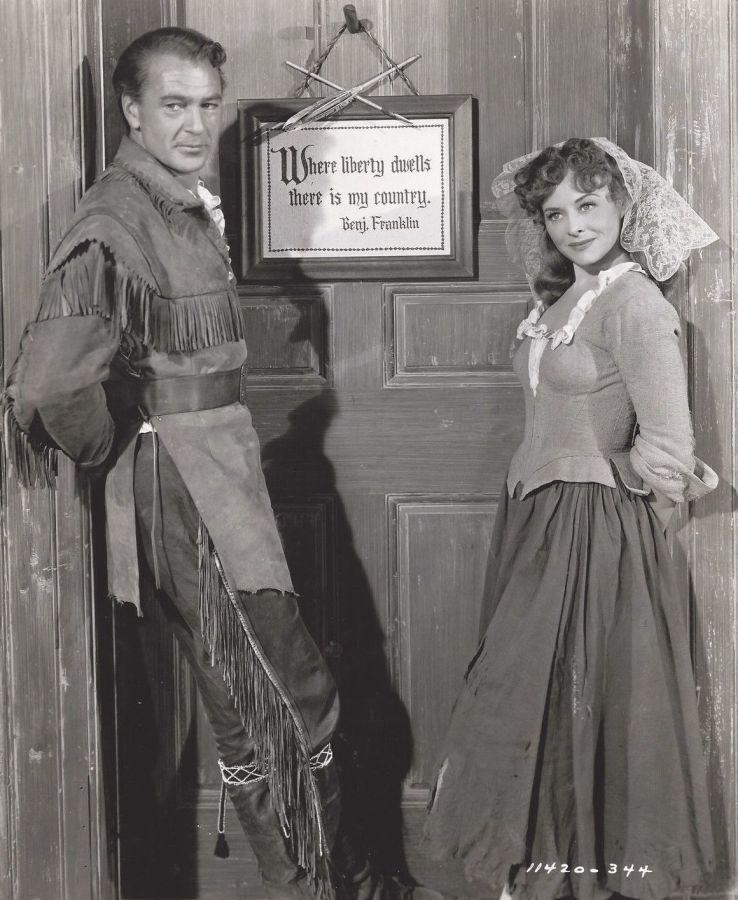 Gary Cooper and Paulette Goddard