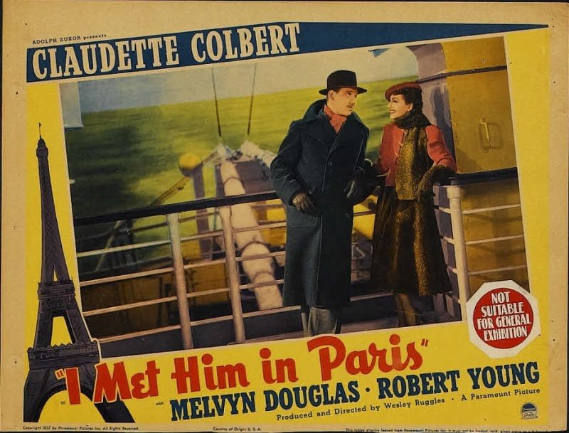 I Met Him in Paris Lobby Card