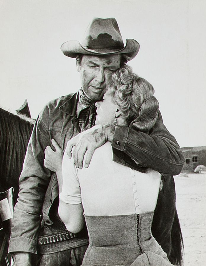 James Stewart and Shelley Winters Winchester '73