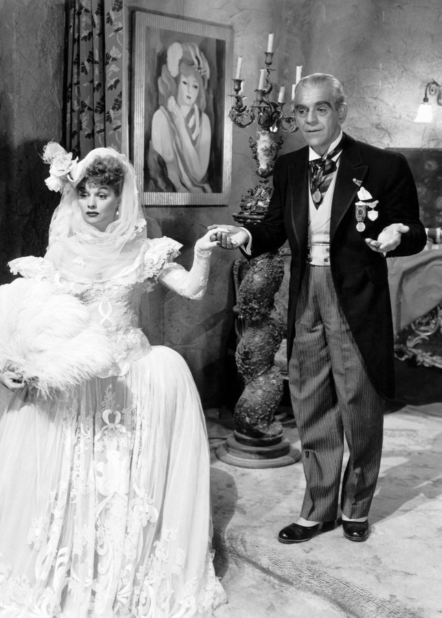 Lucille Ball and Boris Karloff, Lured