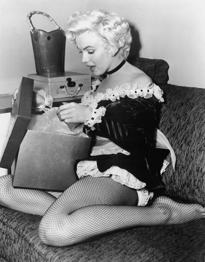 Marilyn Monroe, Behind the Scenes of There's No Business Like Show Business