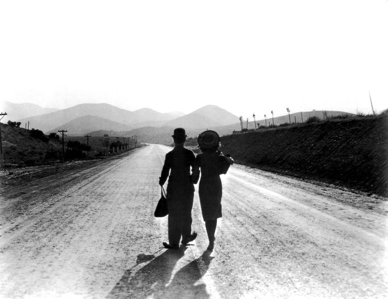 Paulette Goddard and Charlie Chaplin, Modern Times