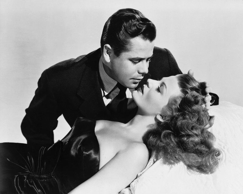 Rita Hayworth and Glenn Ford, Gilda Promotional Picture
