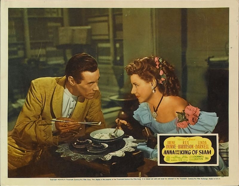 Anna and the King of Siam Lobby Card