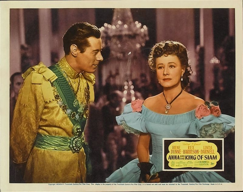 Anna and the King of Siam with Irene Dunne and Rex Harrison