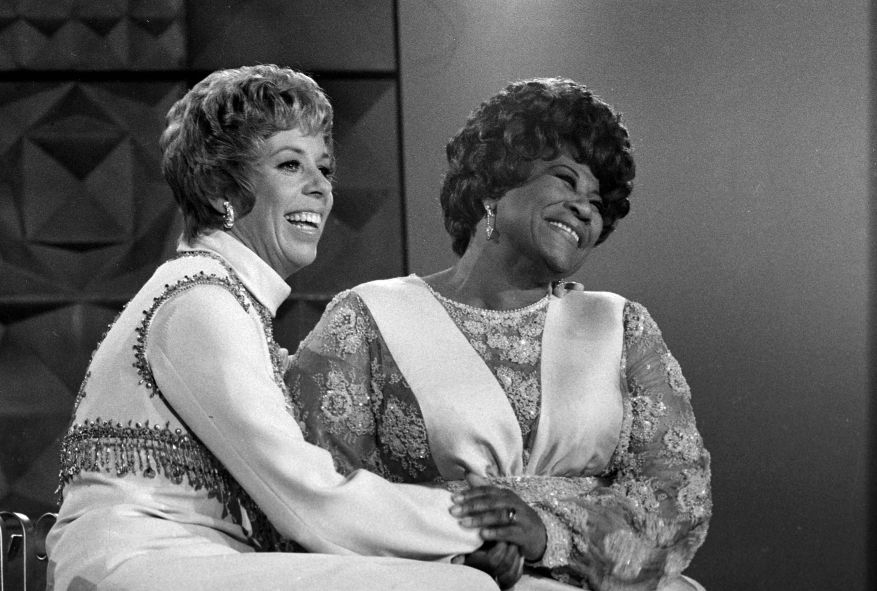 Ella Fitzgerald and Carol Burnett on The Carol Burnett Show