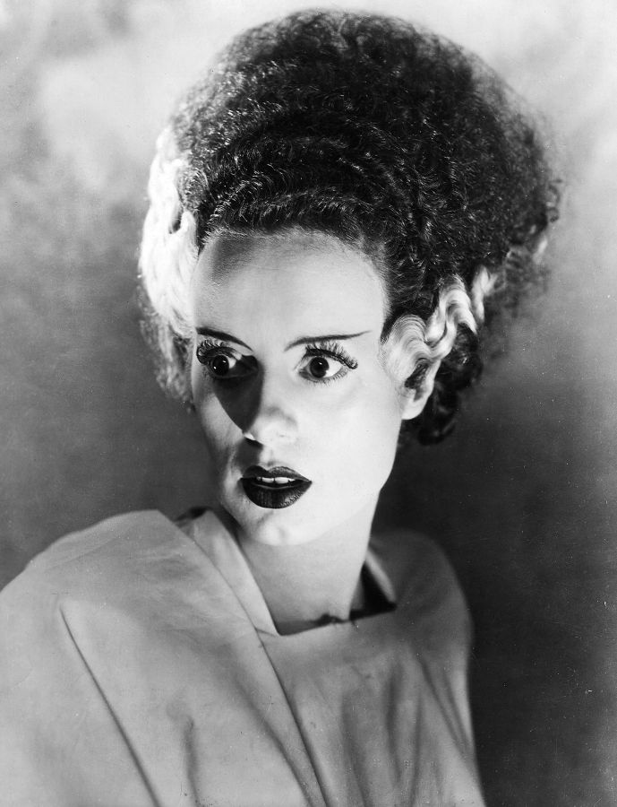 Elsa Lanchester as The Bride of Frankenstein