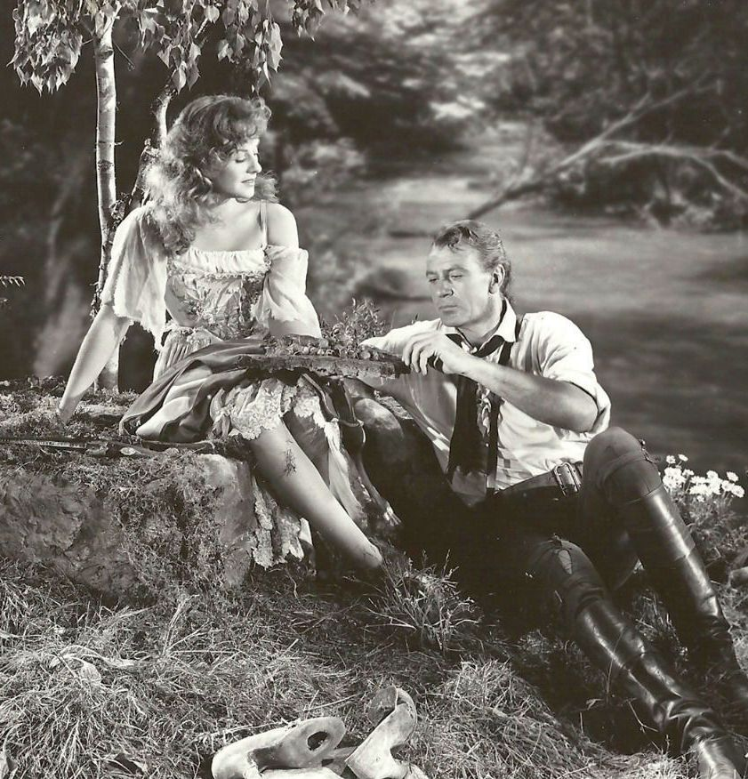 Gary Cooper and Paulette Goddard, Unconquered