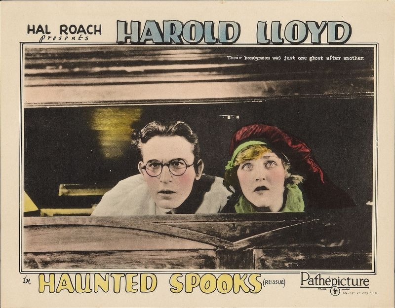 Harold Lloyd and Mildred Davis, Haunted Spooks