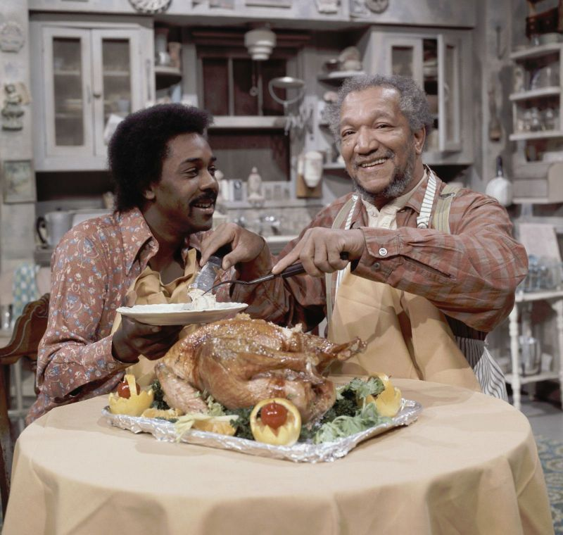 Demond Wilson and Redd Foxx