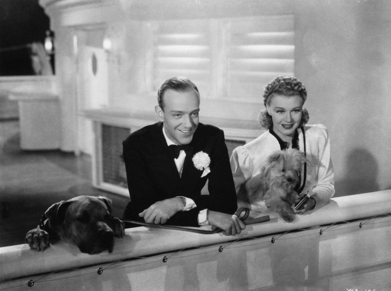 Fred Astaire and Ginger Rogers, Shall We Dance