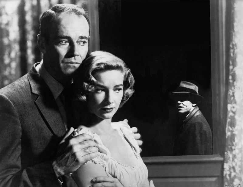 Henry Fonda and Vera Miles, The Wrong Man