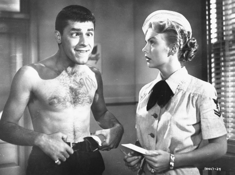 Jerry Lewis and Marion Marshall, Sailor Beware