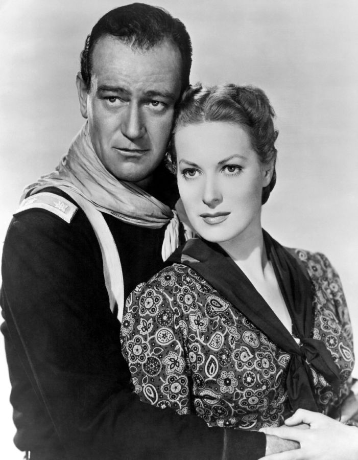 John Wayne and Maureen O'Hara, Rio Grande