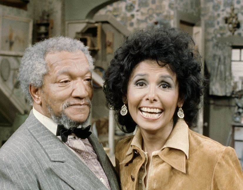 Lena Horne and Redd Foxx, Sanford and Son