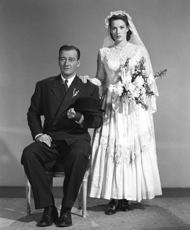 John Wayne and Maureen O'Hara, The Quiet Man