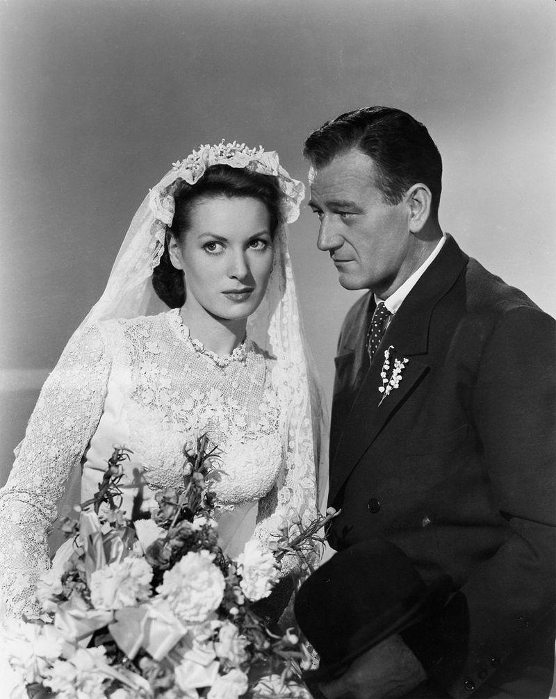 Maureen O'Hara and John Wayne, The Quiet Man
