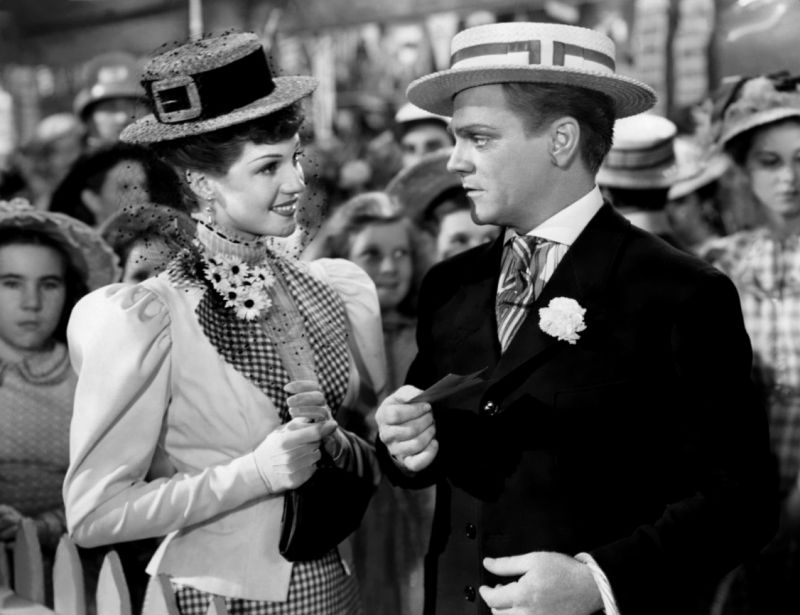 The Strawberry Blonde, Rita Hayworth and James Cagney