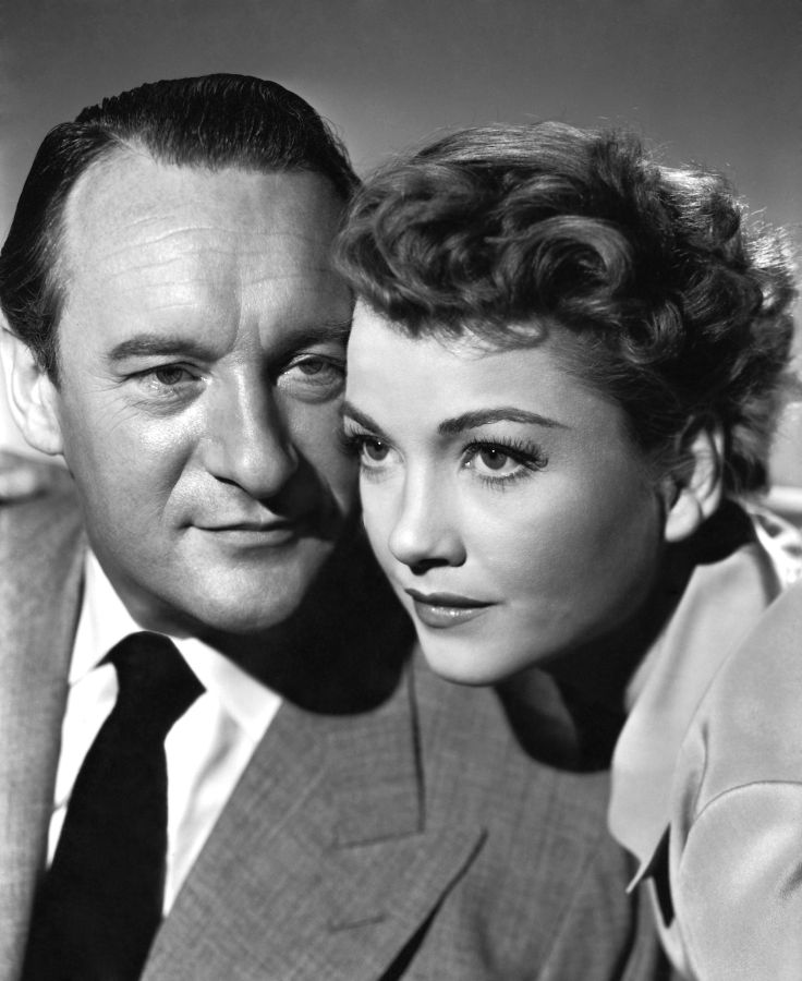 George Sanders and Anne Baxter, All About Eve