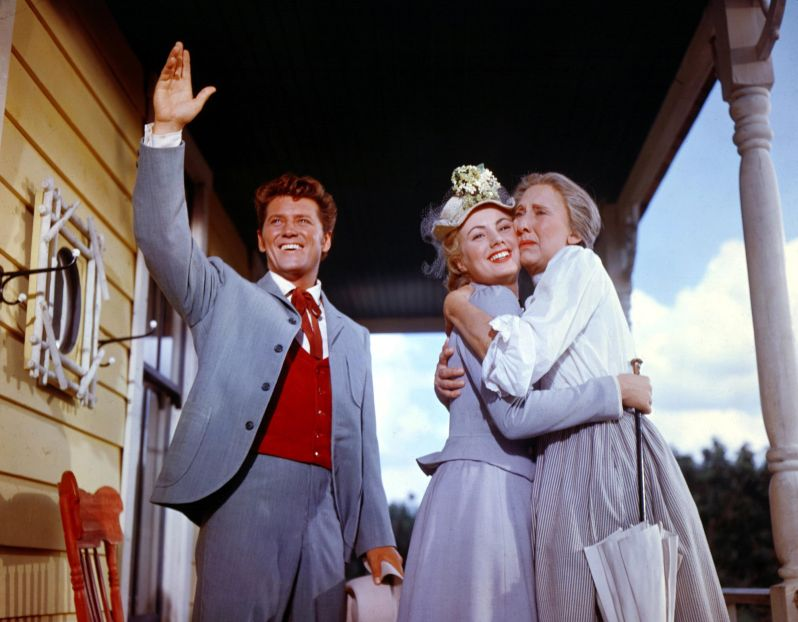 Gordon MacRae, Shirley Jones, and Charlotte Greenwood