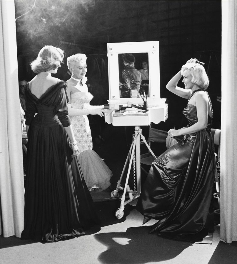 Marilyn Monroe, Lauren Bacall, and Betty Grable - Behind the Scenes of How to Marry a Millionaire