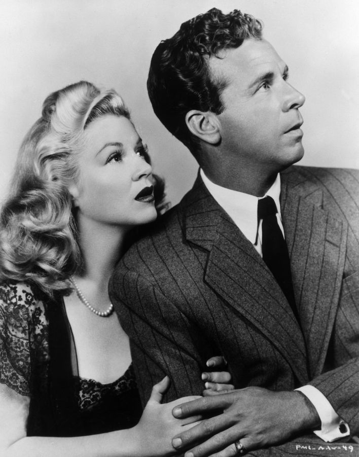 Claire Trevor and Dick Powell: Murder My Sweet