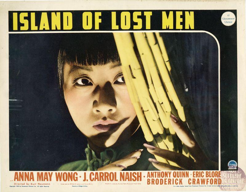 Anna May Wong, Island of Lost Men lobby card