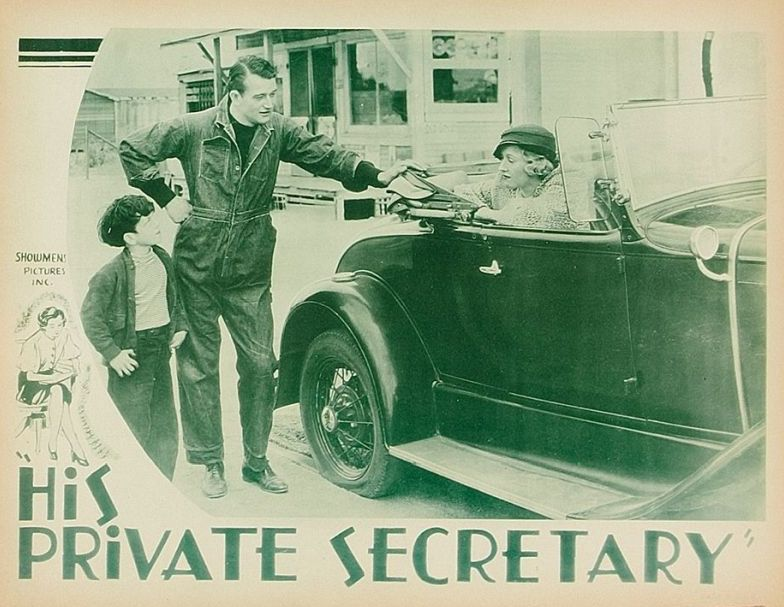 His Private Secretary Lobby Card