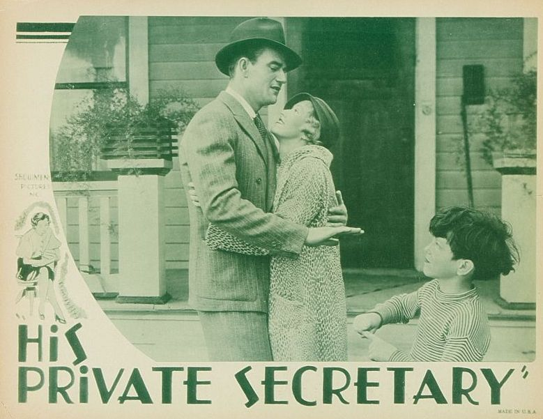 His Private Secretary Lobby Card