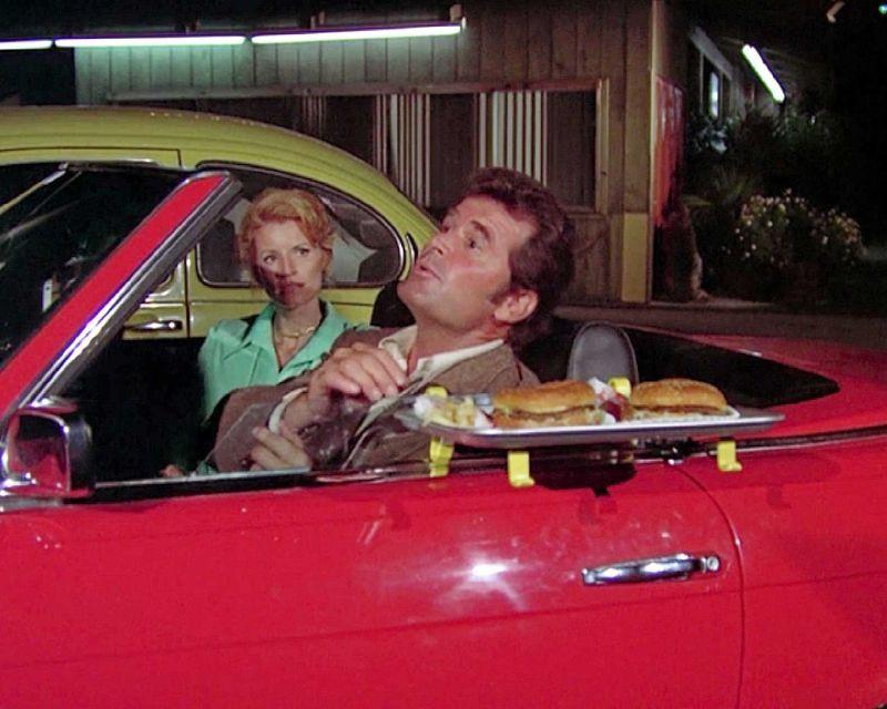 James Garner and Julie Sommars, The Rockford Files