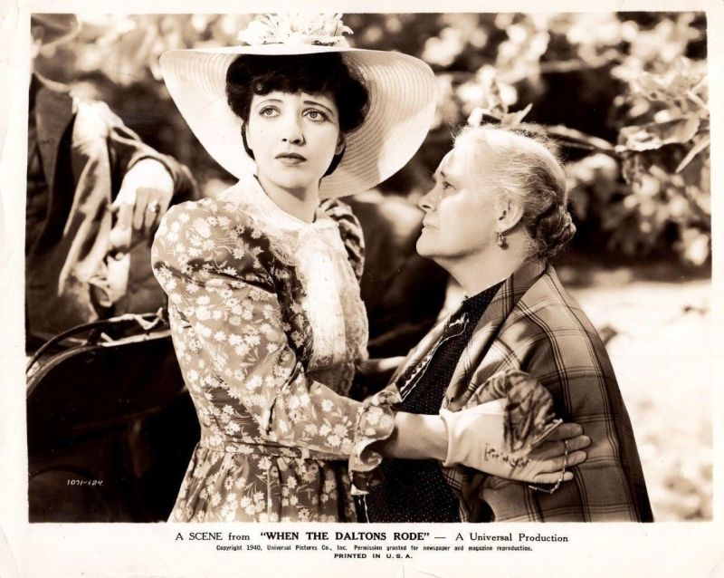 Kay Francis and Mary Gordon, When the Daltons Rode