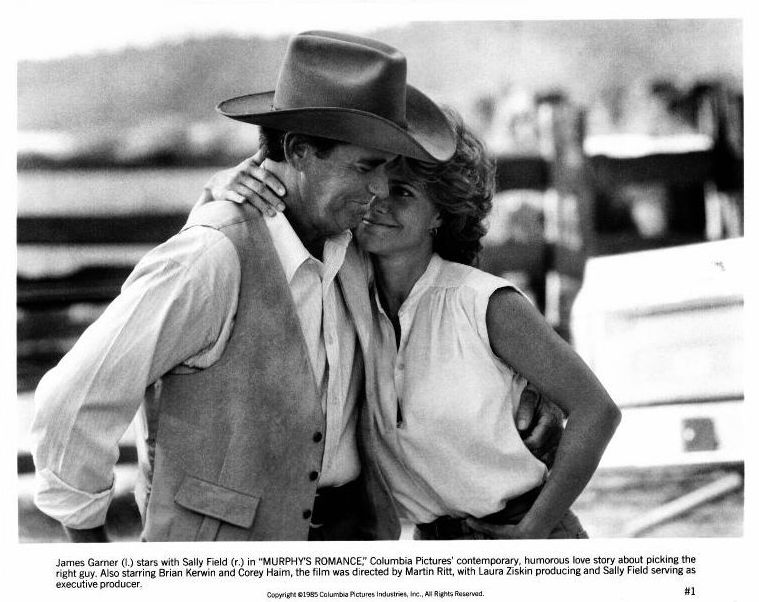 James Garner and Sally Field: Murphy's Romance Publicity Photo