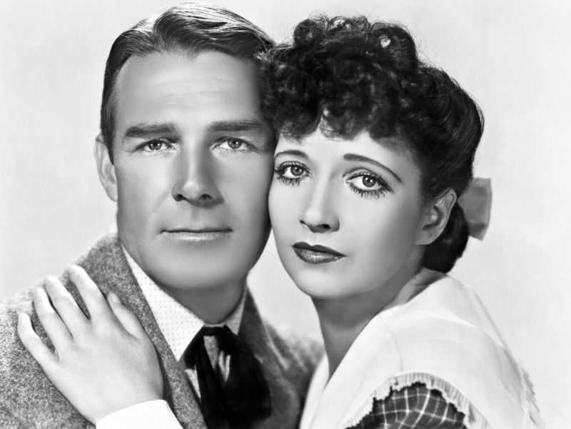 Randolph Scott and Kay Francis, When the Daltons Rode