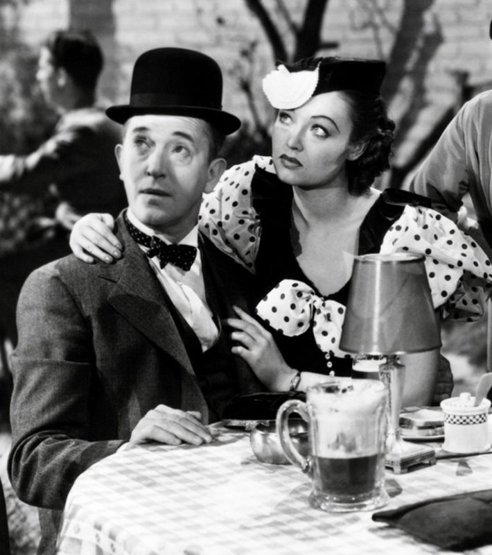 Stan Laurel and Lona Andre