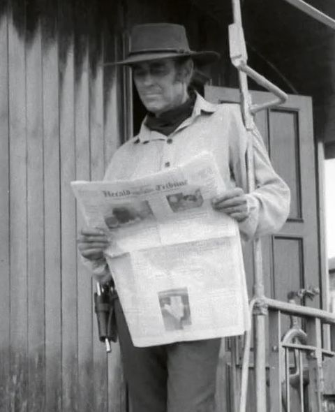 Henry Fonda, Behind the Scenes Once Upon a Time in the West