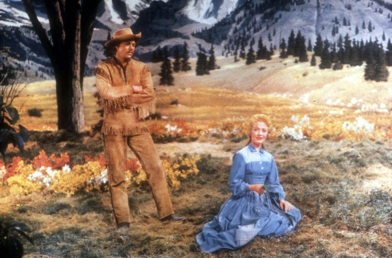 Jane Powell and Howard Keel, Seven Brides for Seven Brothers