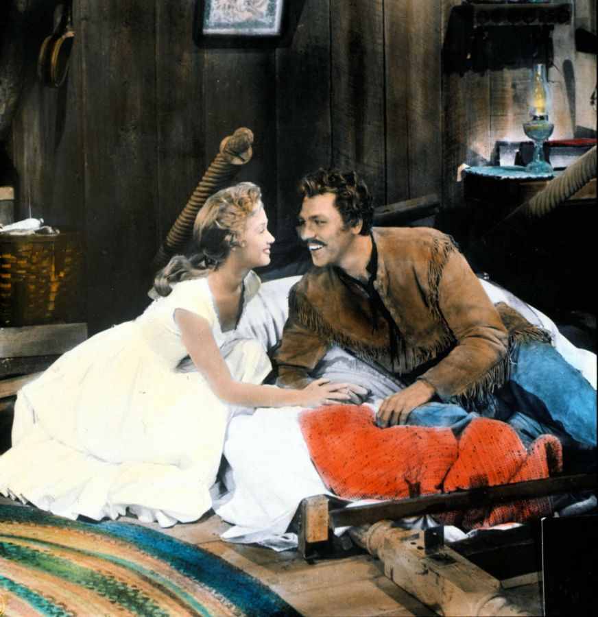 Jane Powell and Howard Keel in Seven Brides for Seven Brothers