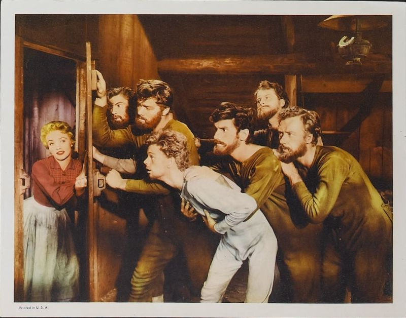 Seven Brides for Seven Brothers Lobby Card