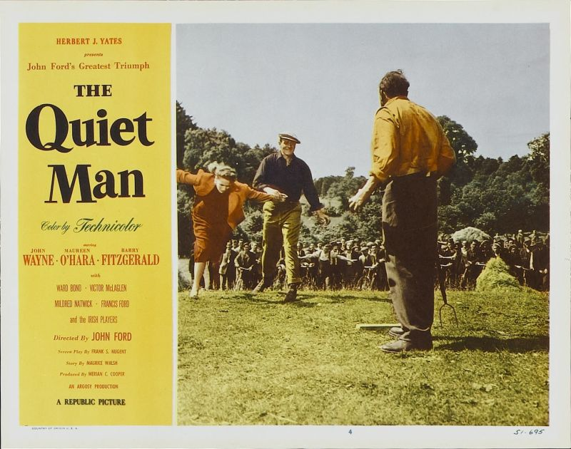 The Quiet Man Lobby Card