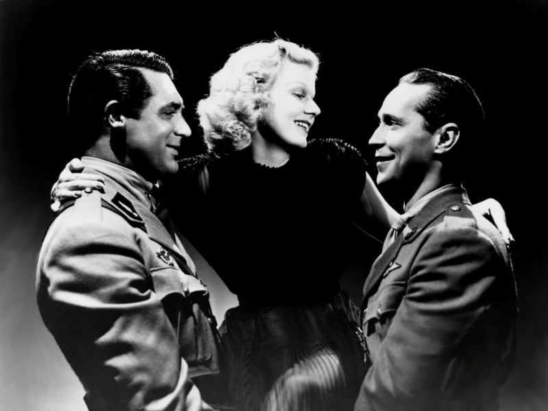 Cary Grant, Jean Harlow, and Franchot Tone in Suzy