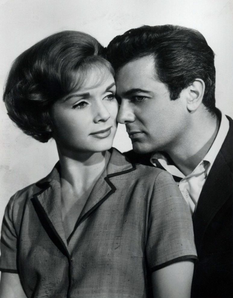Debbie Reynolds and Tony Curtis, The Rat Race