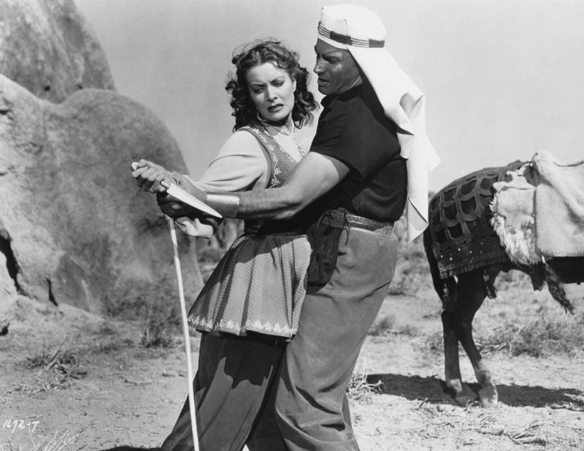 Maureen O'Hara and Jeff Chandler, Flame of Araby