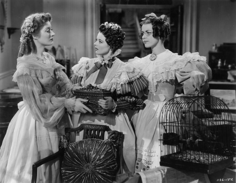 Greer Garson, Ann Rutherford, and Marsha Hunt