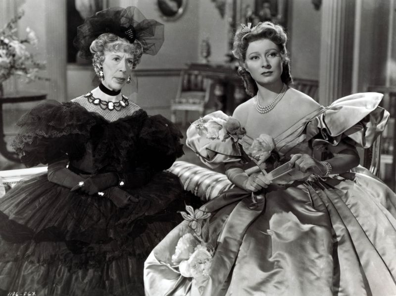 Greer Garson and Edna May Oliver